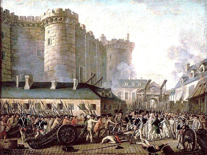 Γαλλική επανάσταση - Η πτώση της Βαστίλης