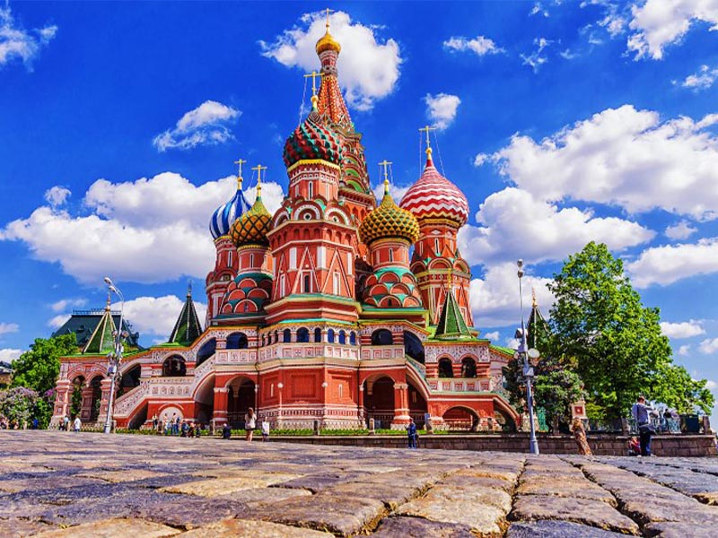 Θρησκεία - Ναοί - Ναός Αγίου Βασιλείου στη Μόσχα
