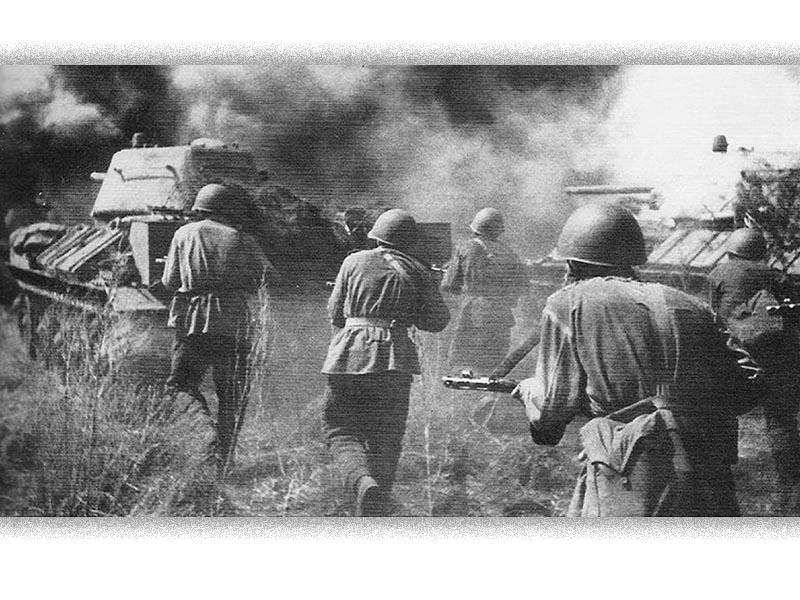 Β'ΠΠ - Κόκκινος στρατός - Η μάχη του Κουρσκ, 1943