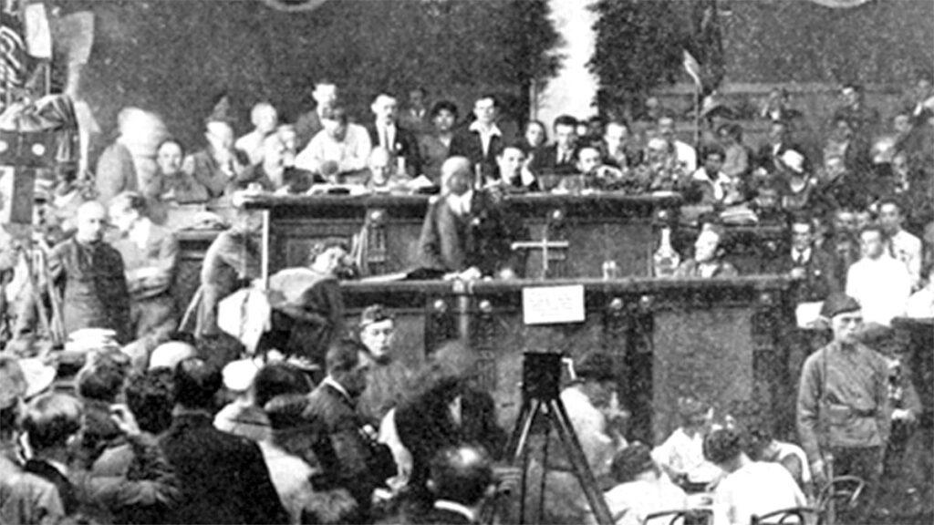 Κομμουνιστική Διεθνής - 2ο Συνέδριο - Λένιν