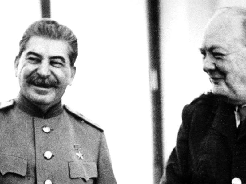 Β'ΠΠ Ιωσήφ Στάλιν - Ουίνστων Τσώρτσιλ - Γιάλτα