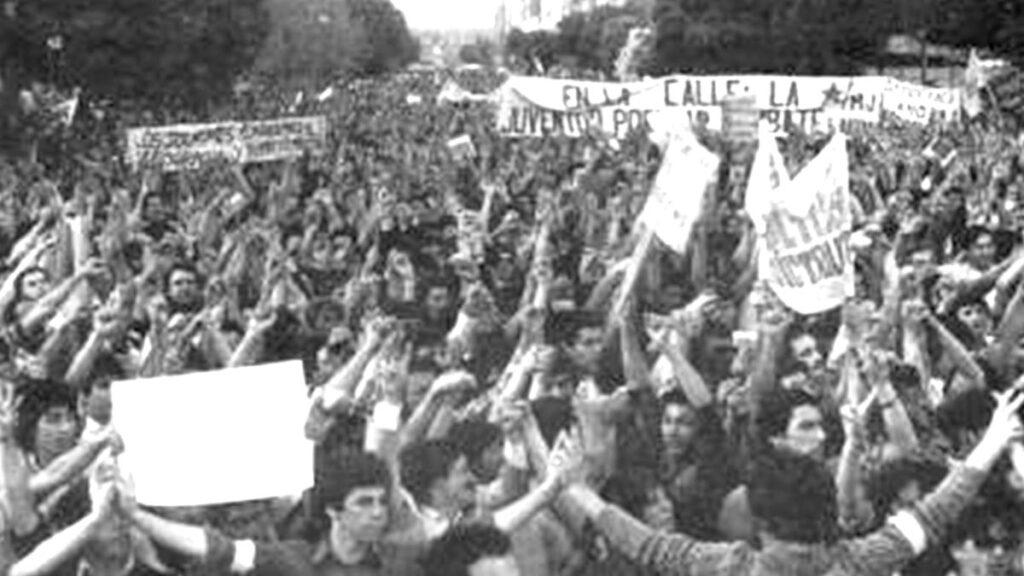 Χιλή - δικτατορία - Πινοσέτ - διαδηλώσεις, 1983