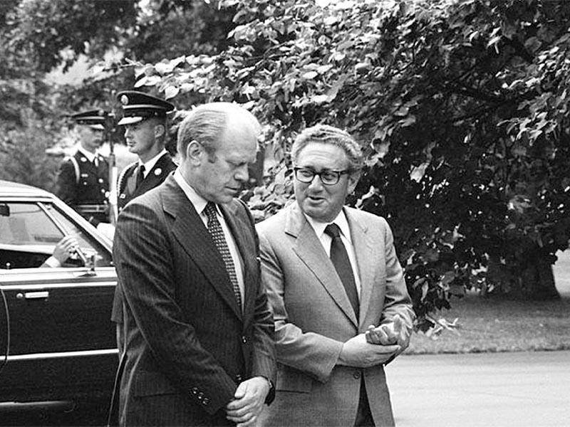 ΗΠΑ - ιμπεριαλισμός - αντικομμουνισμός - Χένρι Κίσινγκερ - Τζ. Φόρντ