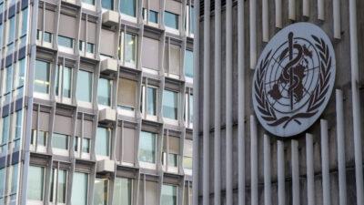 Τα κεντρικά γραφεία του Παγκόσμιου Οργανισμού Υγείας (ΠΟΥ) στη Γενεύη της Ελβετίας