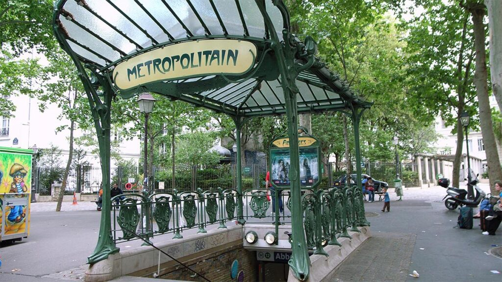 Γαλλία - Παρίσι - Μεταφορές - Μετρό