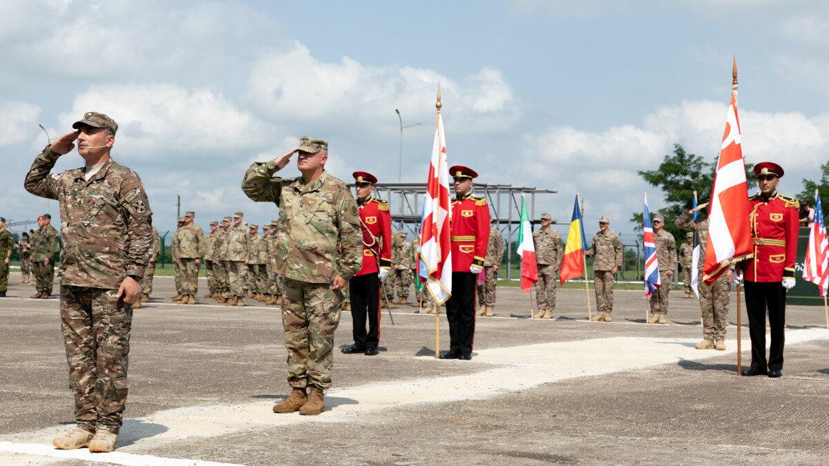 Agile Spirit 2021: Στρατιωτική πολυεθνική άσκηση που πραγματοποιείται στη Γεωργία από τις 26 Ιουλίου έως τις 6 Αυγούστου 2021
