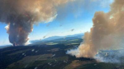 Πυρκαγιές στον καναδά λόγω ισχυρού καύσωνα