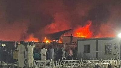 Πυρκαγιά σε μονάδα Covid σε νοσοκομείο του Ιράκ