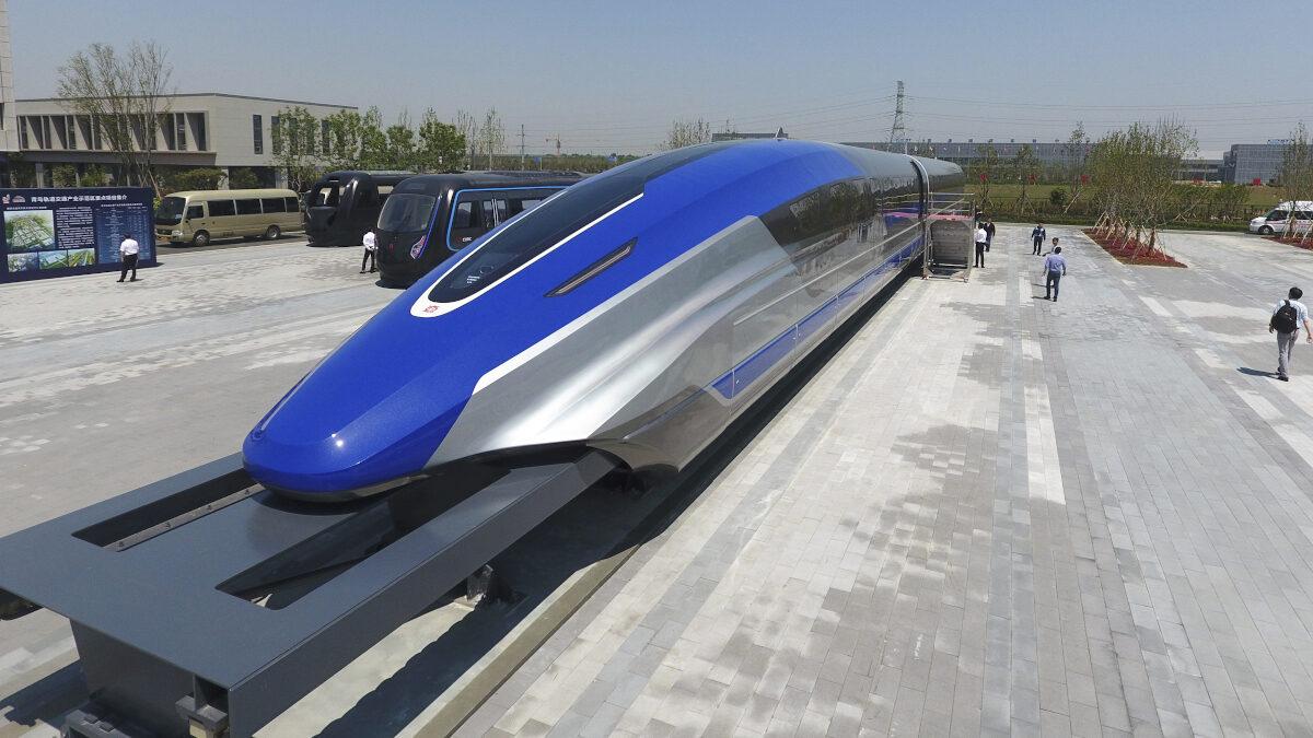 Το νέας τεχνολογίας τρένο στην Κίνα