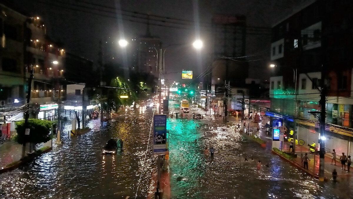Πλημμύρες στις Φιλιππίνες