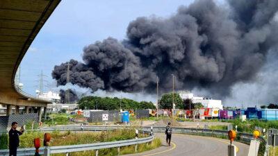 Έκρηξη σε χημικό πάρκο στη Γερμανία