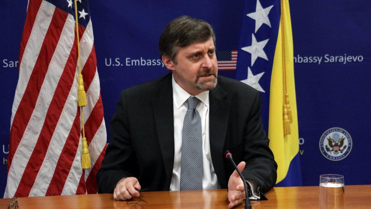 Υφυπουργός Εξωτερικών των ΗΠΑ, Μάθιου Πάλμερ στο Κοσσυφοπέδιο