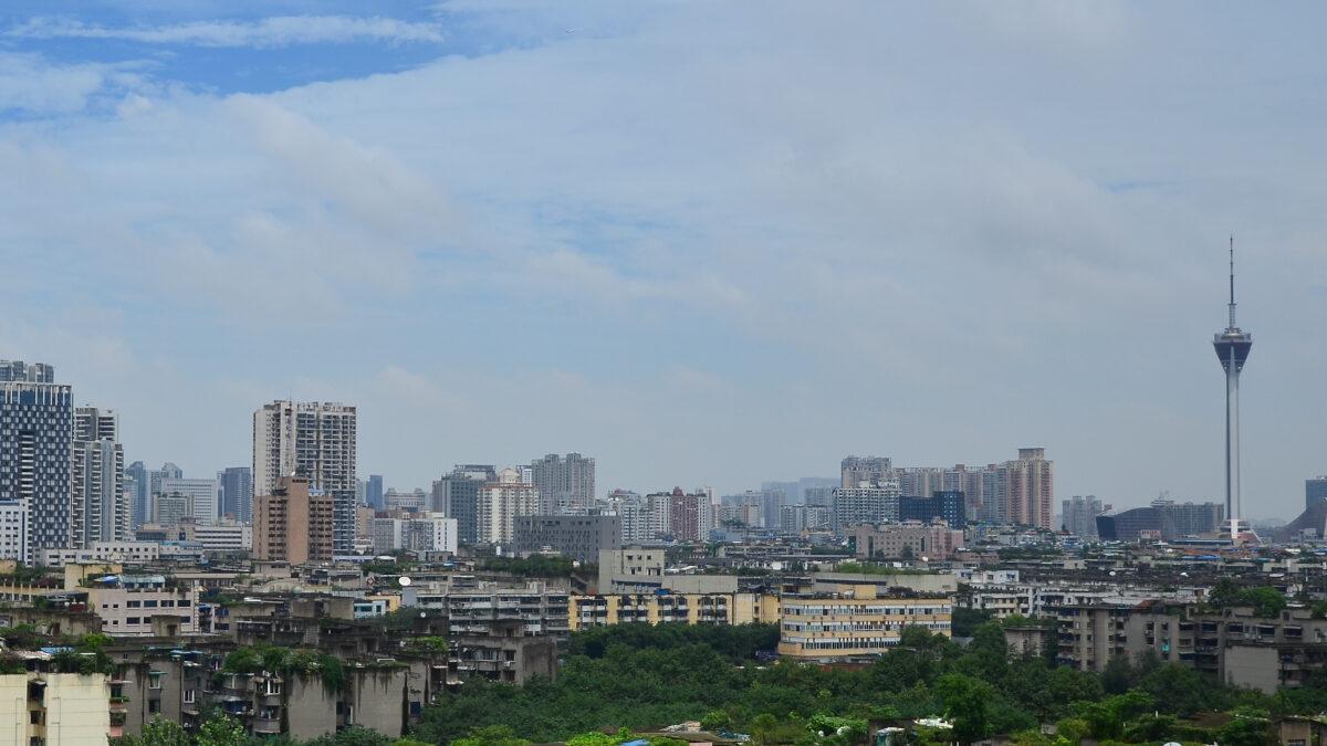 Η πόλη Τσεντσόου της Κεντρικής Κίνας
