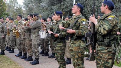 Στρατιώτες της Ελληνικής Δύναμης Κύπρου (ΕΛΔΥΚ) Φλεβάρης 2012