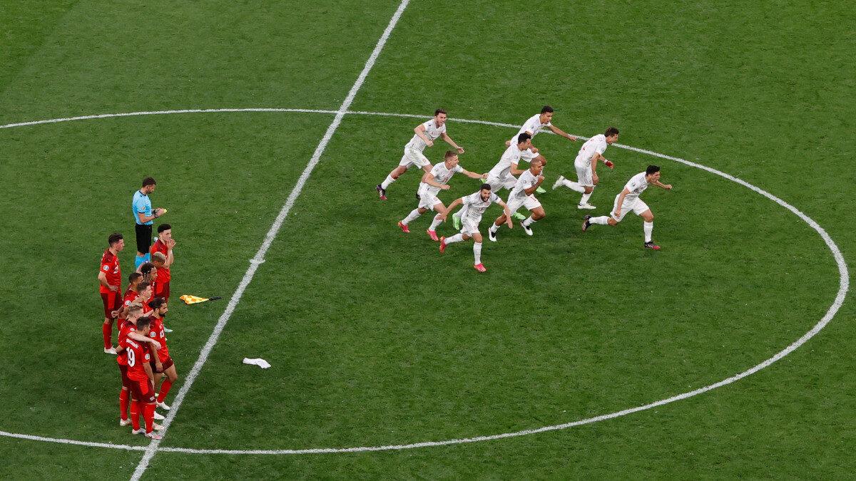 Ευρωπαϊκό Πρωτάθλημα: Ελβετία - Ισπανία 1-3 στα πέναλτι (1-1 Κ.Δ.)