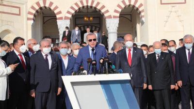 Δηλώσεις του Προέδρου της Τουρκίας, Ρ.Τ. Ερντογάν, στην Κατεχόμενη Κύπρο - Ιούλιος 2021