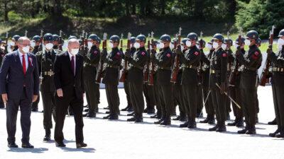 Από την επίσκεψη του Προέδρου της Τουρκίας, Ρ.Τ. Ερντογάν στα Κατεχόμενα της Κύπρου - Ιούλης 2021