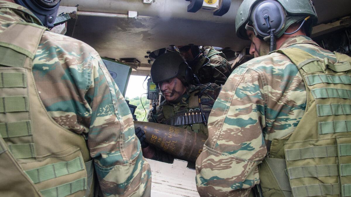Στρατιώτες - Ξάνθη - Τακτικής Άσκησης Μετά Στρατευμάτων (ΤΑΜΣ)