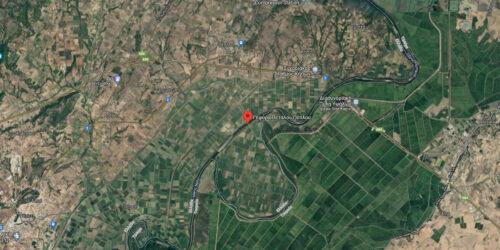Χάρτης / Γέφυρα Πετάλου στον Πέπλο, Έβρος
