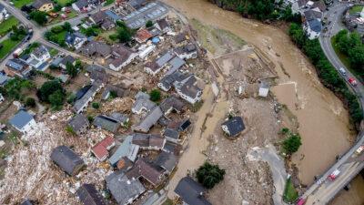 Πλημμύρες στη Γερμανία - Ιούλιος 2021