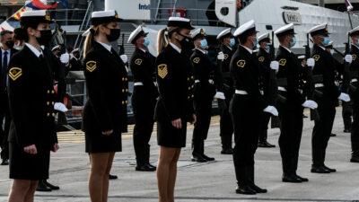 Τελετή ένταξης δύο νέων περιπολικών σκαφών στον στόλο του Λιμενικού Σώματος - Ελληνικής Ακτοφυλακής