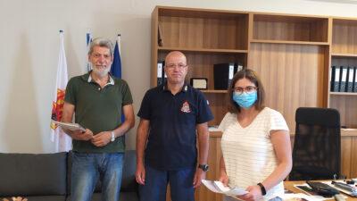 Περιοδεία του ΚΚΕ στην Πυροσβεστική Υπηρεσία Ιωαννίνων