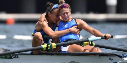Μαρία Κυρίδου και Χριστίνα Μπούρμπου - Δίκωπος στους Ολυμπιακούς Αγώνες Τόκυο 2020