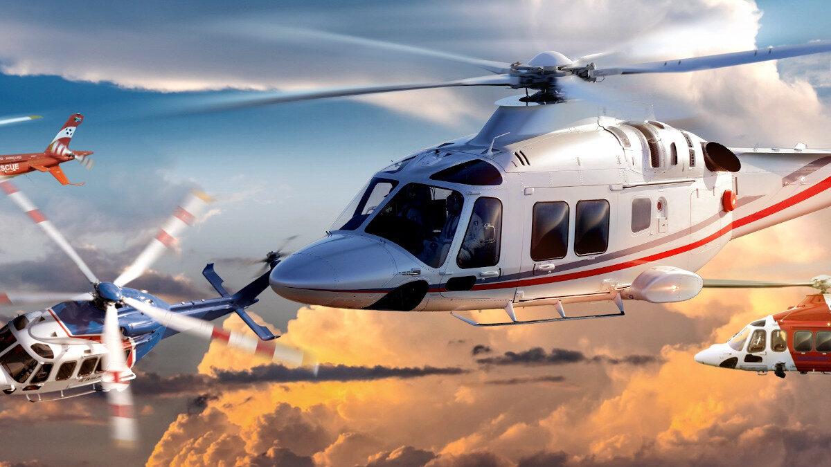 Ελικόπτερα του Ιταλικού Ομίλου Εταιριών Leonardo