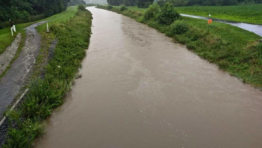 Πλημμύρες στο Βέλγιο - Kessel-Lo, Leuven