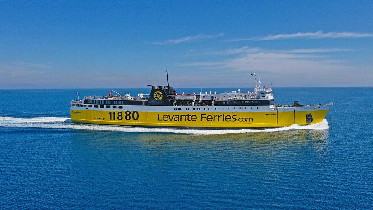 Το Ε/Ο πλοίο Κεφαλλονιά της Levante Feries