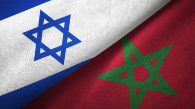 Σημαίες Ισραήλ και Μαρόκο