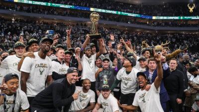 Οι Μιλγουόκι Μπακς κέρδισαν το πρώτο τους πρωτάθλημα NBA