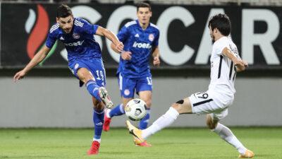 Προκριματικά Champions League: Νέφτσι - Ολυμπιακός 0 - 1