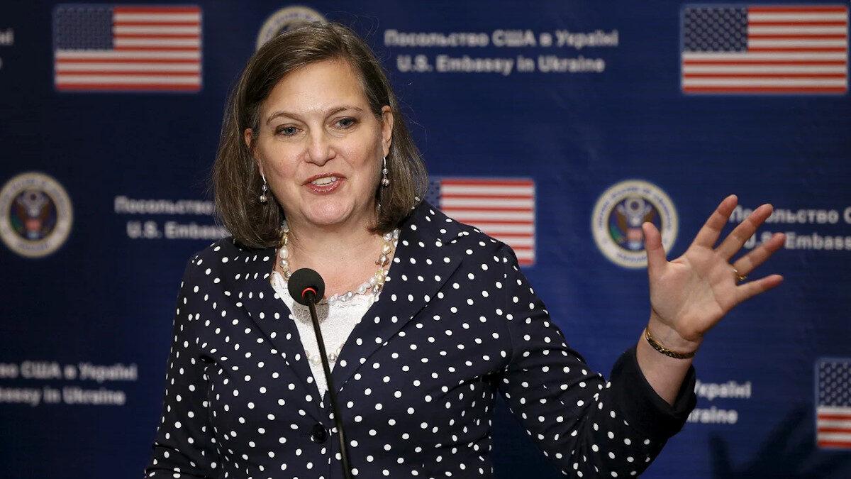 H Αμερικανίδα υφυπουργός Εξωτερικών, Βικτόρια Νούλαντ