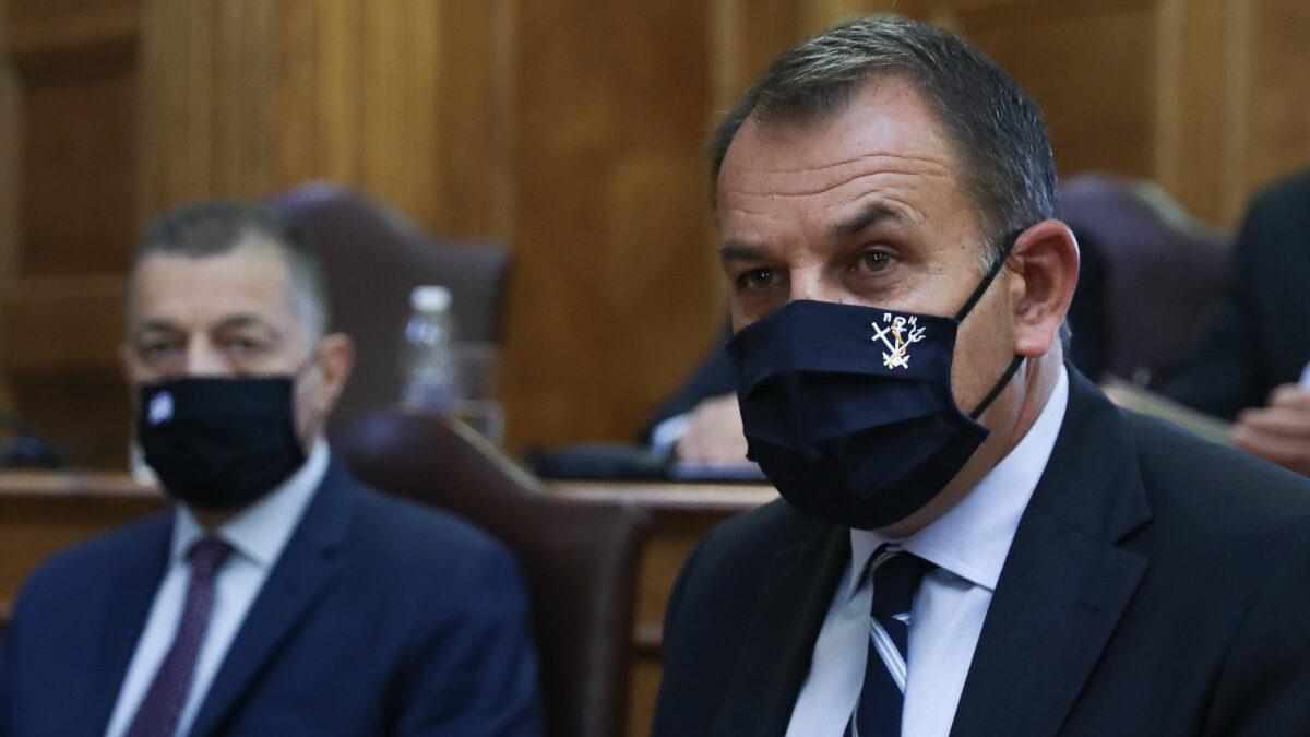 Ο Υπουργός Άμυνας της Κυβέρνησης της ΝΔ, Ν. Παναγιωτόπουλος - Ιούλιος 2021