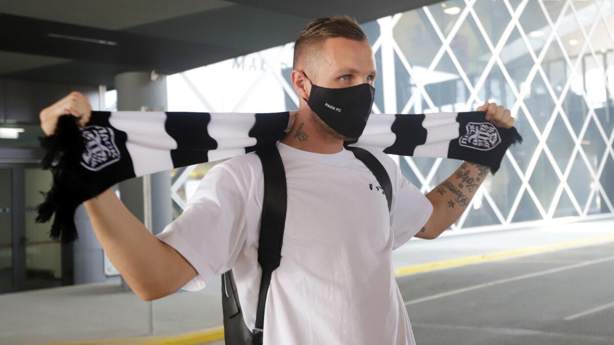 Άφιξη του ποδοσφαιριστή Γιασμίν Κούρτιτς για την ομάδα του ΠΑΟΚ