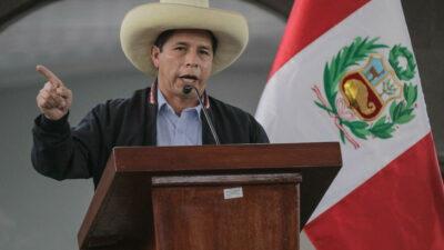 Καστίγιο Πορταδα (Castillo Portada), ο Πρόεδρος του Περού (Ιούλιος 2021)