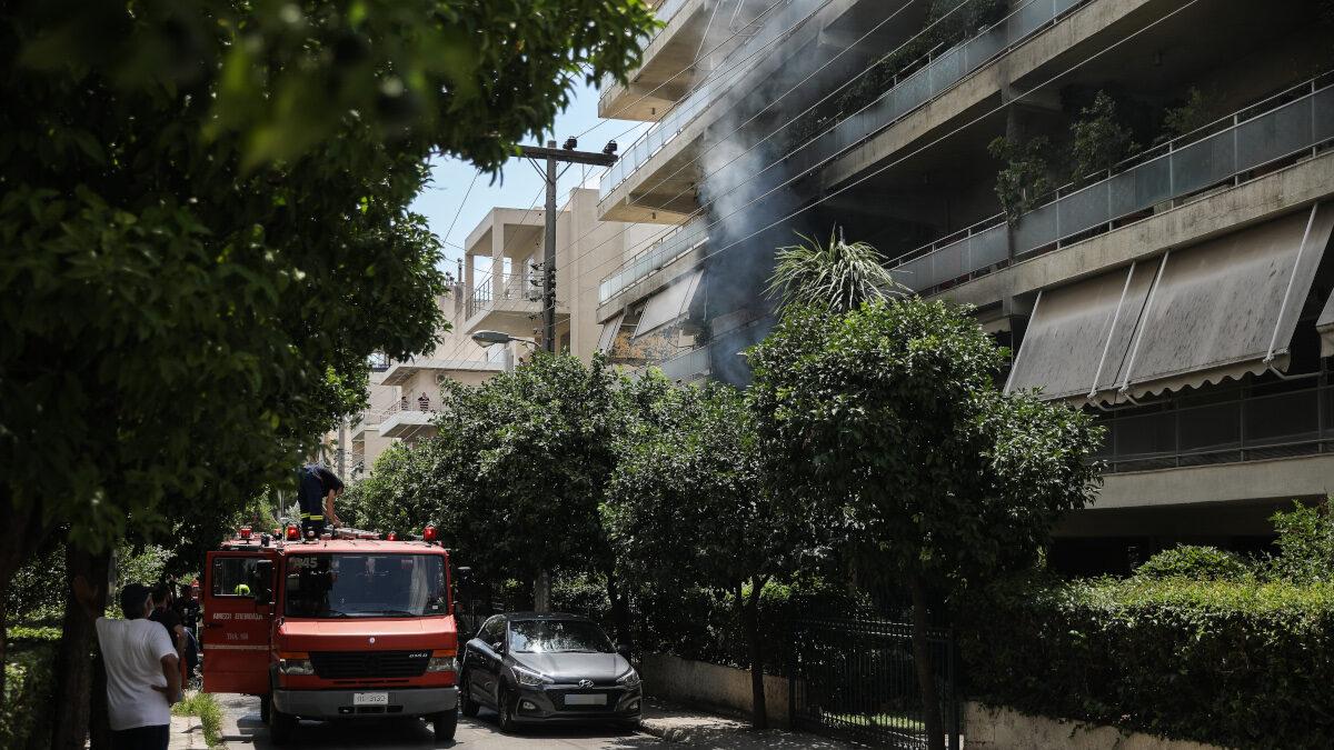 Πυρκαγιά σε διαμέρισμα στο Μαρούσι, Δευτέρα 19 Ιουλίου 2021
