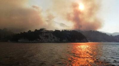 Πυροσβεστική - Πυρκαγιά στη Σάμο 15-16/7/2021