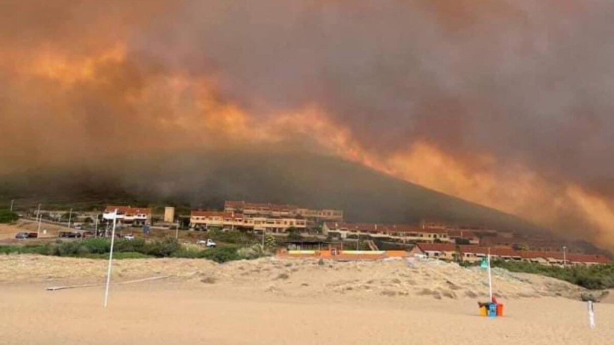 Πυρκαγιά στην Σαρδηνία