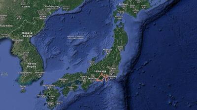 Χάρτης Ιαπωνίας - Επαρχία Shizuaka
