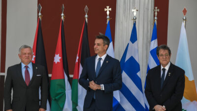 Τριμερής συνάντηση Ελλάδας - Κύπρου - Ιορδανίας