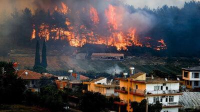 Πυρκαγιά στην Τουρκία