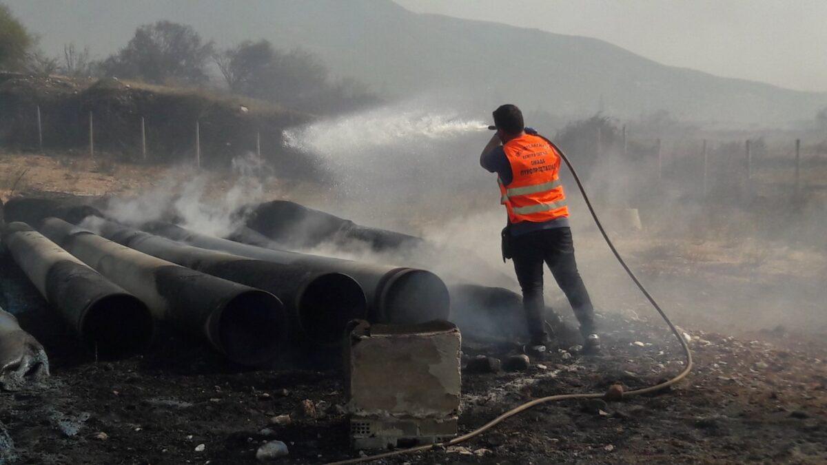 Το Εργατικό Κέντρο Πάτρας συνδράμει την προσπάθεια των Πυροσβεστών στα πύρινα μέτωπα της Αχαΐας
