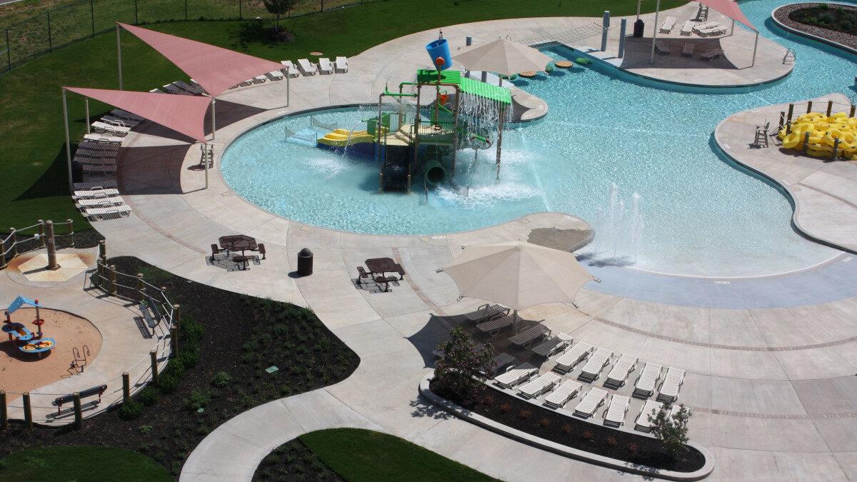 WaterPark στο Spring του Τέξας στις ΗΠΑ