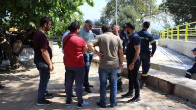 Κλιμάκιο του ΚΚΕ στο Κέντρο Ελέγχου Πυροσβεστικού Σώματος στην Πάτρα