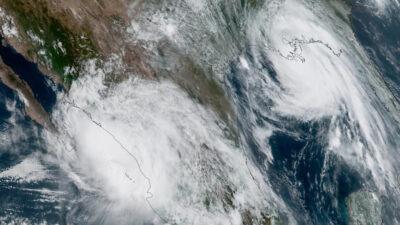 Τυφώνας Νόρα στο Μεξικό