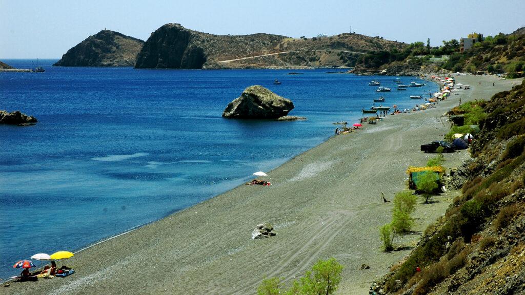 Παραλία στους Καλούς Λιμένες Ηρακλείου Κρήτης