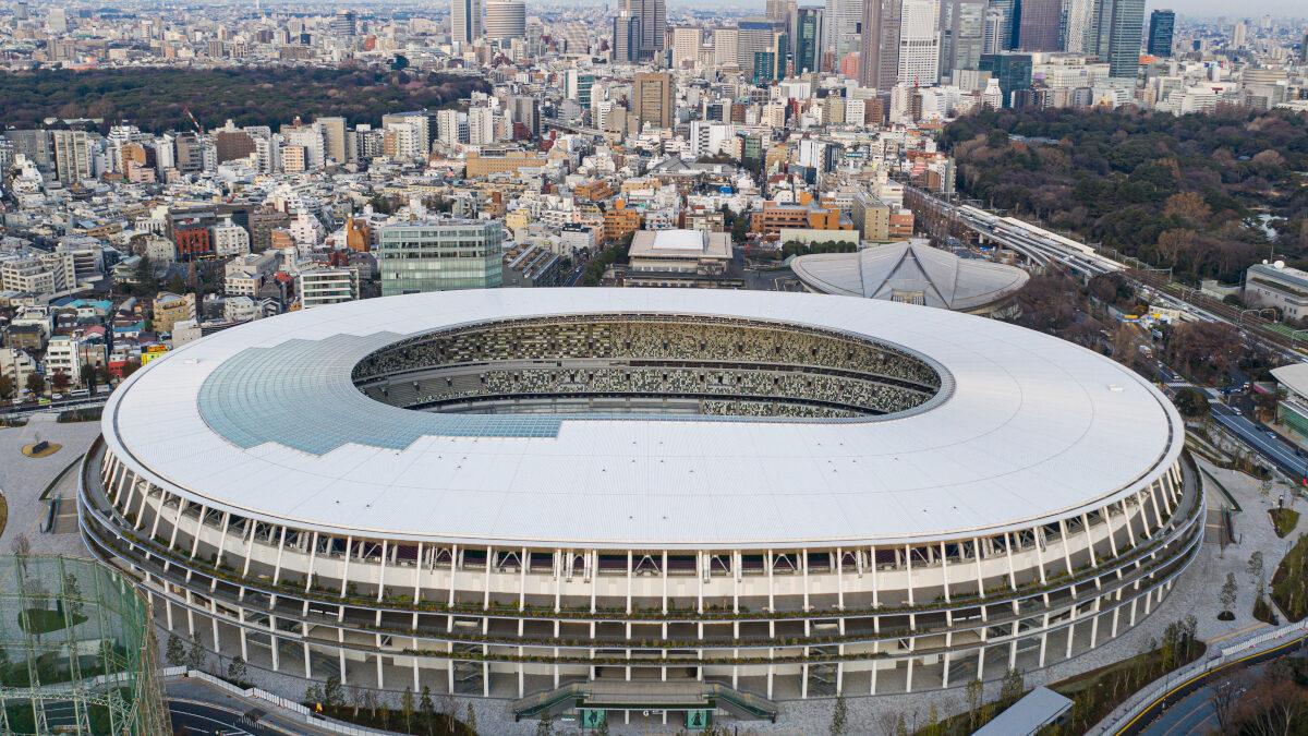 Το νέο Εθνικό Στάδιο του Τόκιο (Ιαπωνία) που φιλοξένησε τους 32ους Ολυμπιακούς Αγώνες TOKYO 2020