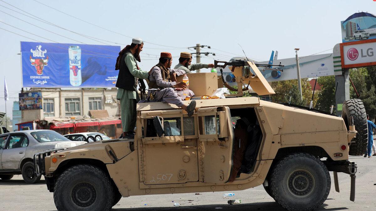 Οι Ταλιμπάν με εξοπλισμό των ΗΠΑ στην Κανταχάρ του Αφγανιστάν - Αύγουστος 2021